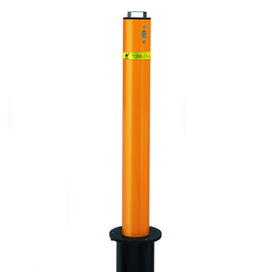Manual Retractable Bollards Carbon Steel