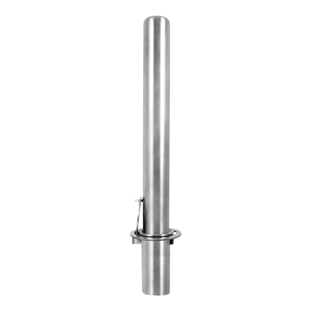 ″ padlock removable stainless steel bollards