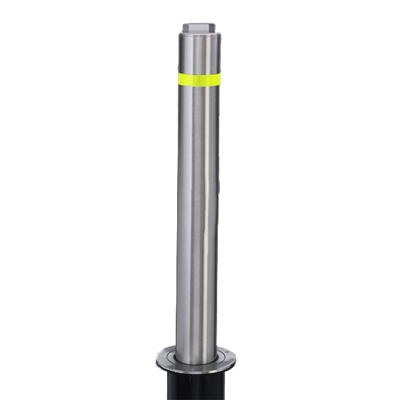 Manual Retractable Bollards Stainless Steel